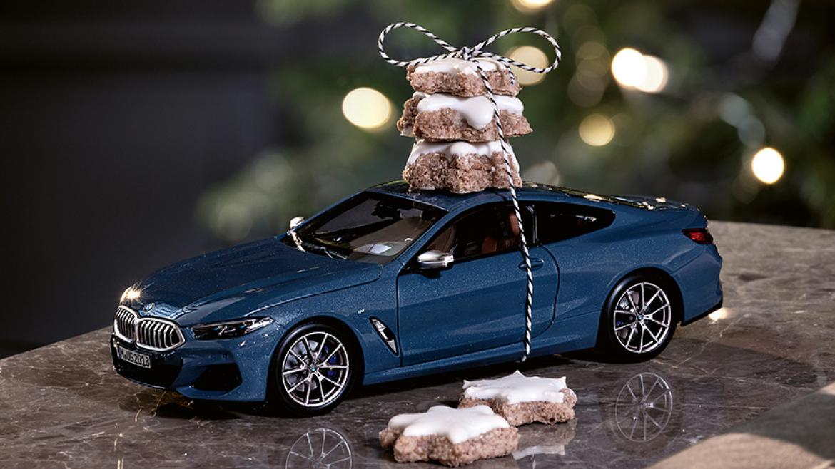 CHRISTMAS GIFT FROM BMW.